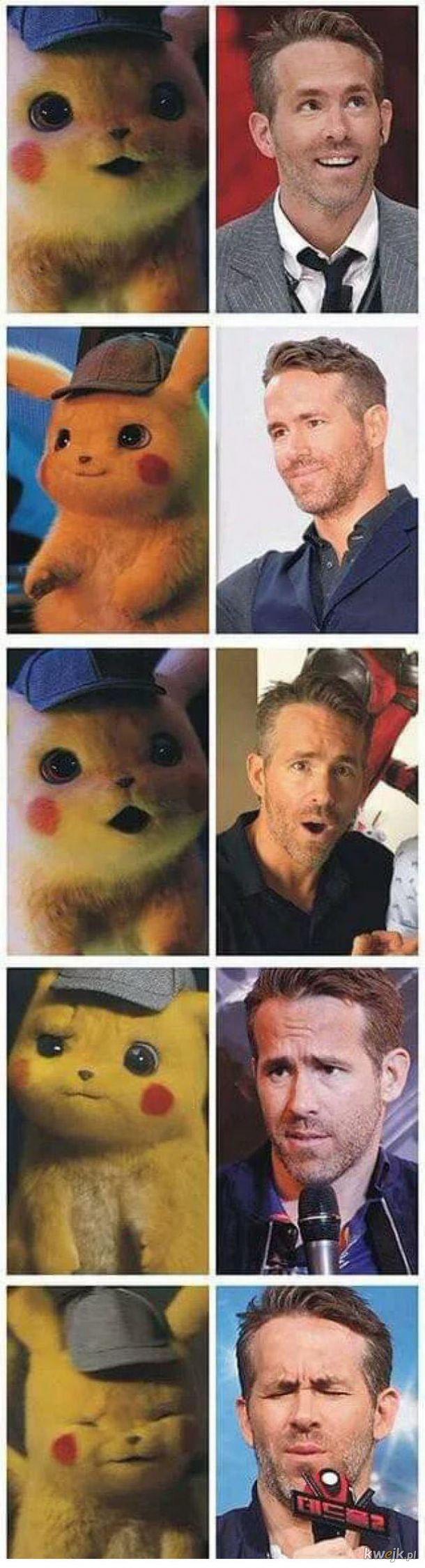 Pikachu to Ryan Reynolds