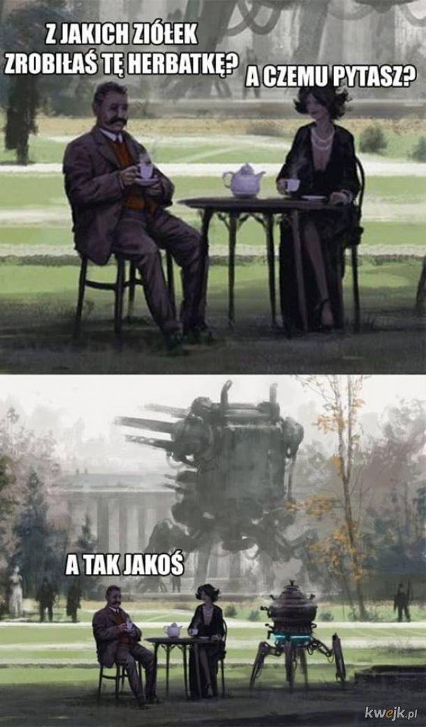 Herbatka.