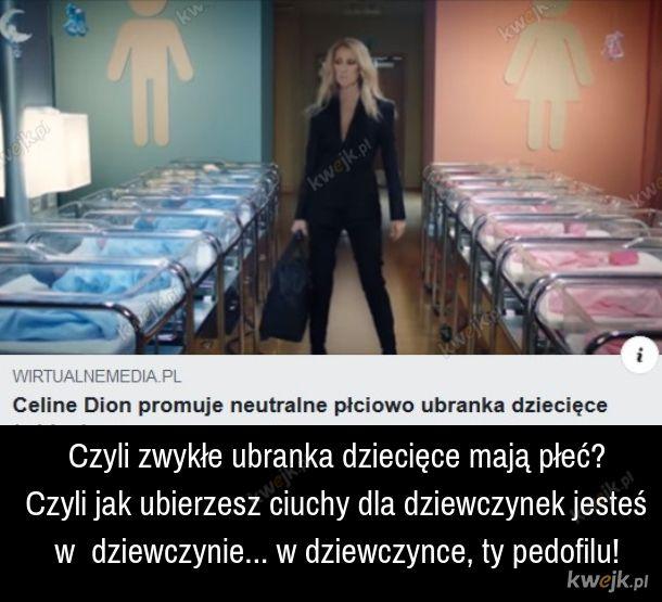 Ubranka mają płeć