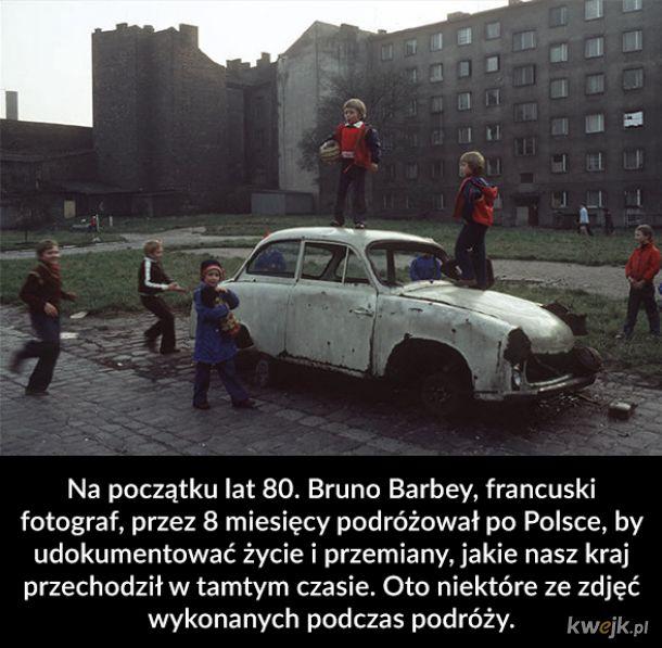 Fotograf i 40 000 km przez Polskę w latach 80.
