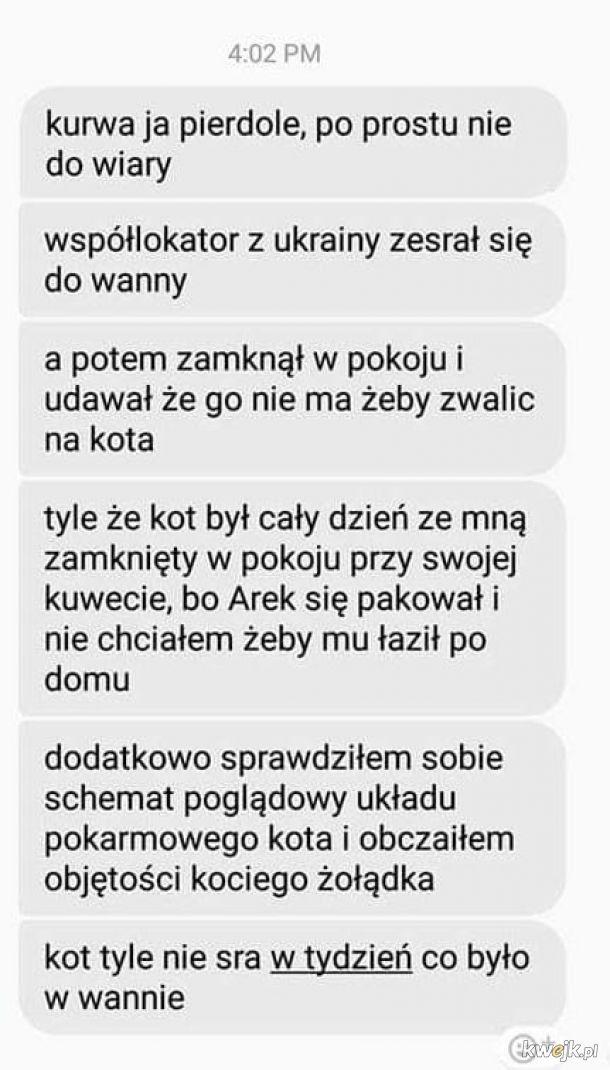 Współlokator z Ukrainy