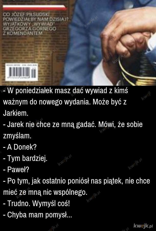 Wywiad z Piłsudskim