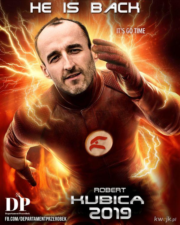 Robert Kubica powraca!