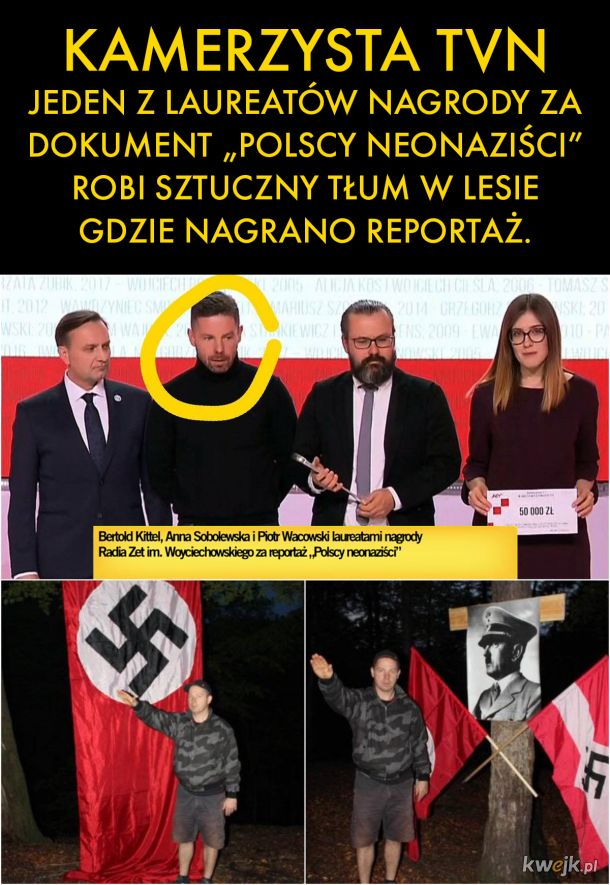 NEONAZISTOWSKA SZOPKA W LESIE, WAFEL SS, CDN.