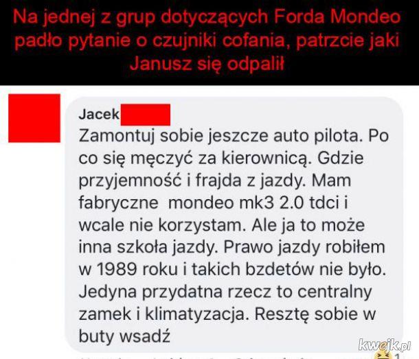 Co ten Janusz z forum
