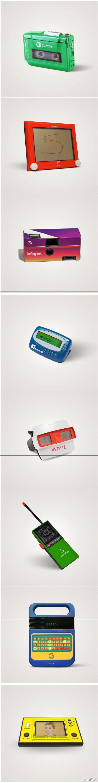 Jakby wyglądała dzisiejsza technologia w latach 80