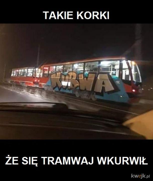 Wk**wiony tramwaj
