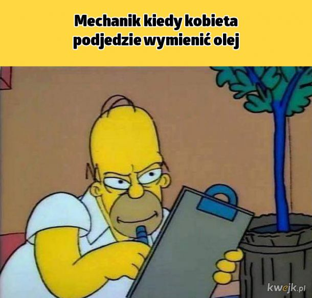 Typowy Mirek mechanik
