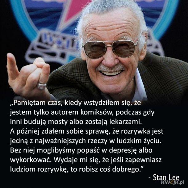 Mądre słowa od Stana Lee