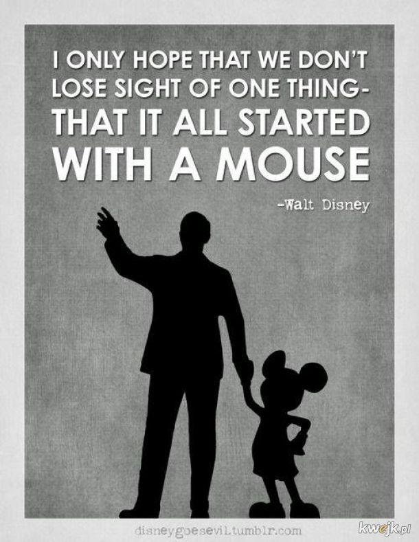 Myszka Miki ma już 90 lat ! 18 listopada 1928r. powstał pierwszy udźwiękowiony film z myszonem - Steamboat Willie (Willie z parowca)