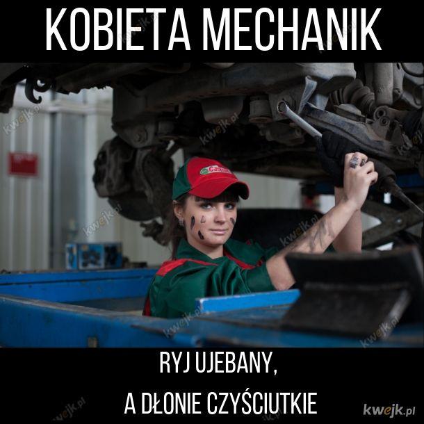 Kobieta mechanik czy mechaniczka?