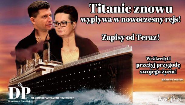 Zapisy na Titanica od TERAZ!