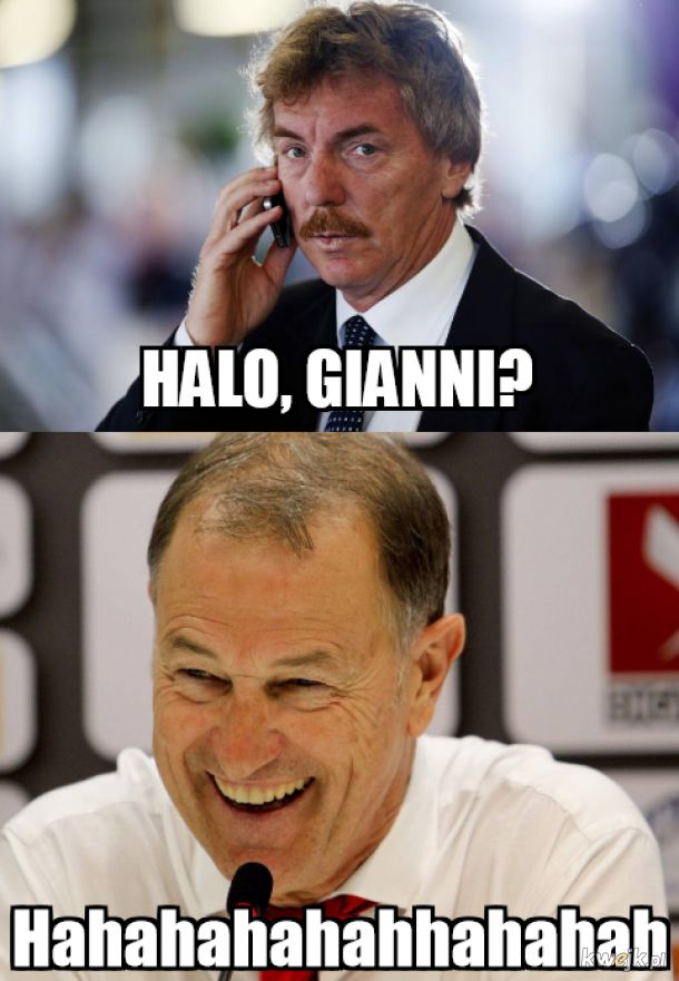 Halo, Gianni?