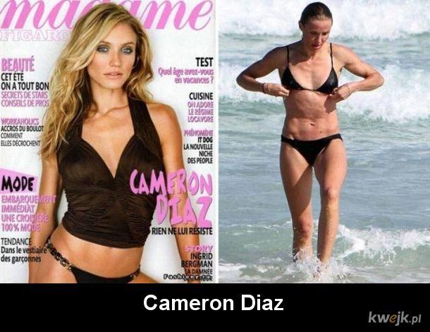 Okładki czasopism vs. prawdziwe życie. Prawda bywa okrutna...