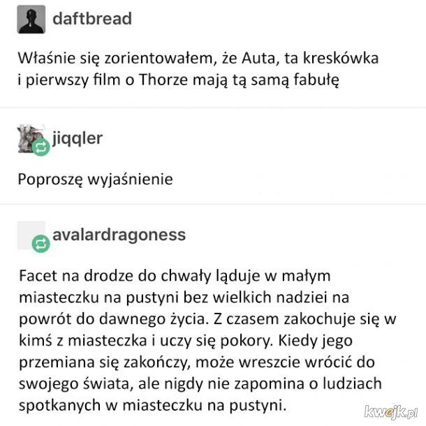 Podejrzanie podobna fabuła Thora i Aut