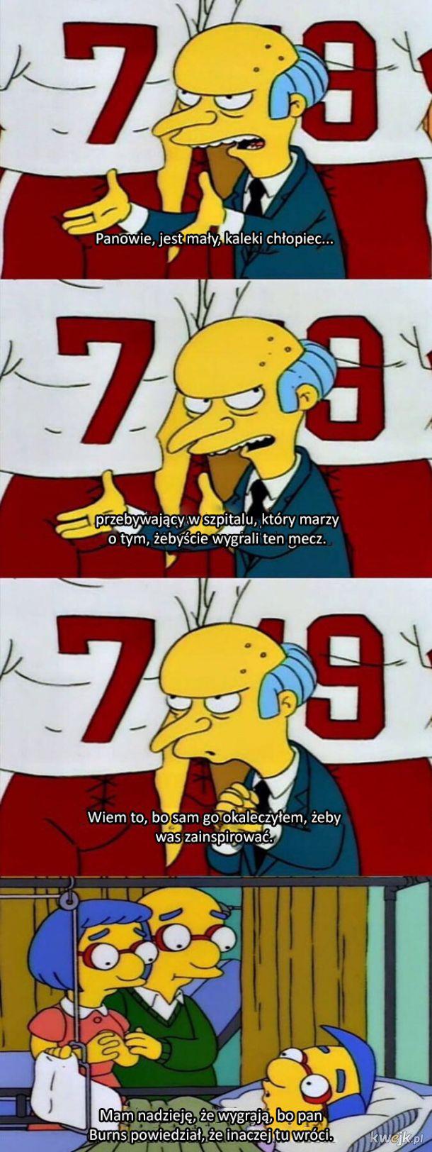 Inspiracja od pana Burnsa