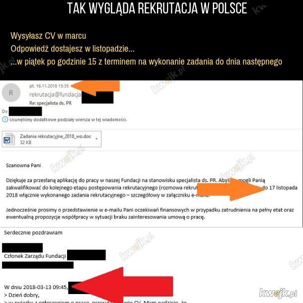 Rekutacja po polsku
