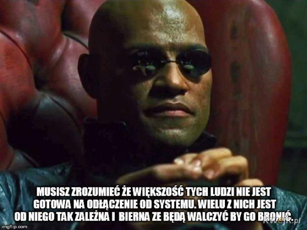 Matrix jako państwo socjalne