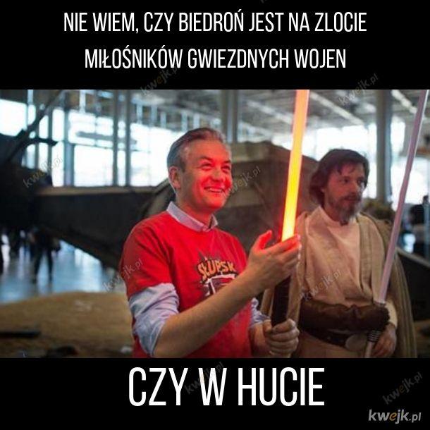 Biedroń Jedi