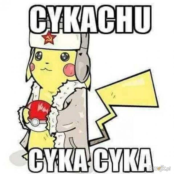 Pikachu po roku w Rosji