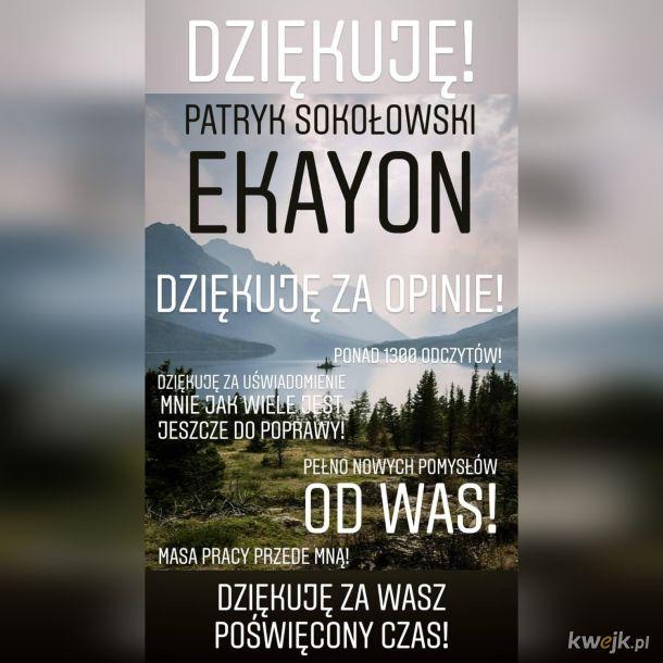 Ekayon - moje pierwsze dzieło. Proszę o opinię!