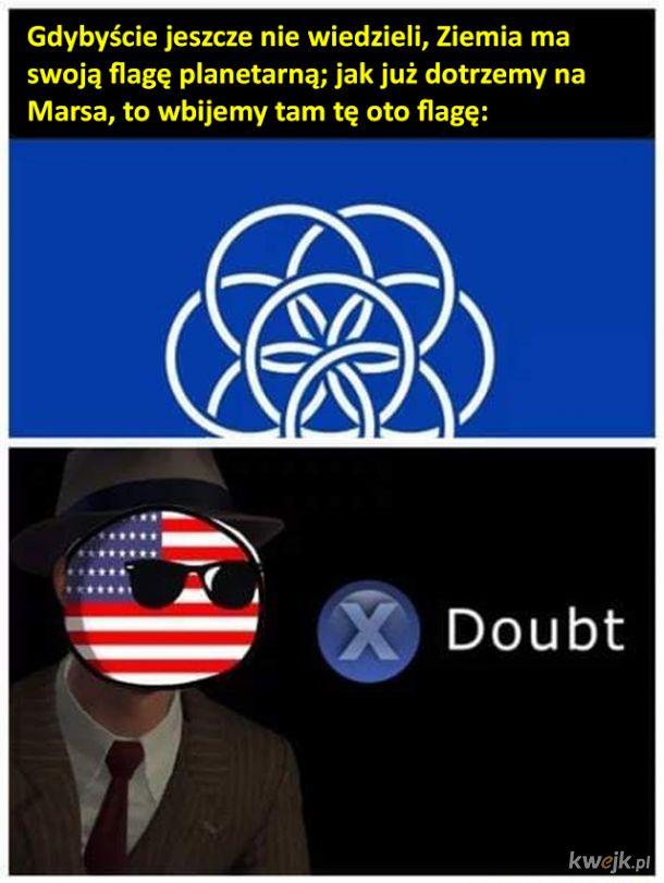 Założę się, że to jednak będzie inna flaga