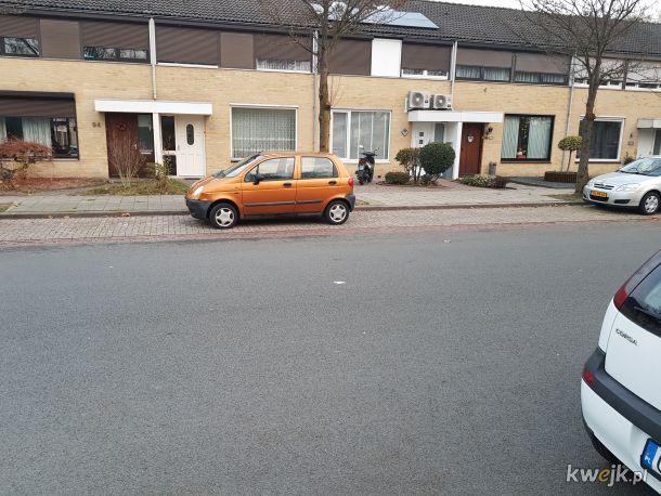 Tak parkują kobiety w holandii