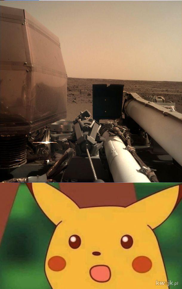 NASA WYSYŁA ZDJĘCIE Z MARSA
