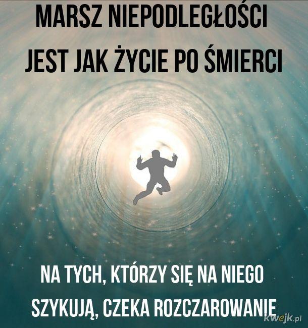 No i nie będzie spaceru po Warszawie