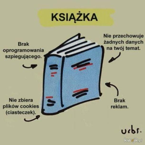 Przewaga książek