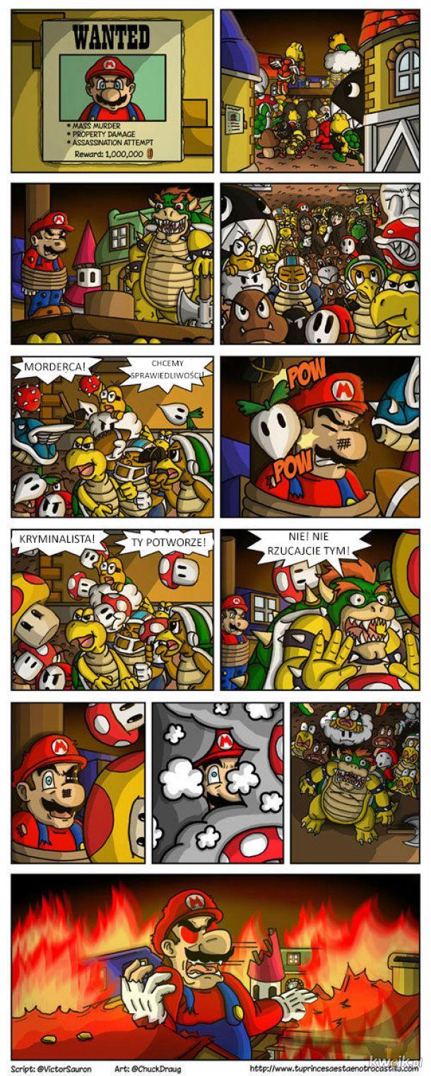 Mario to zbrodniarz