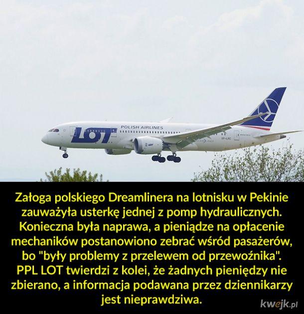 Zrzutka w samolocie