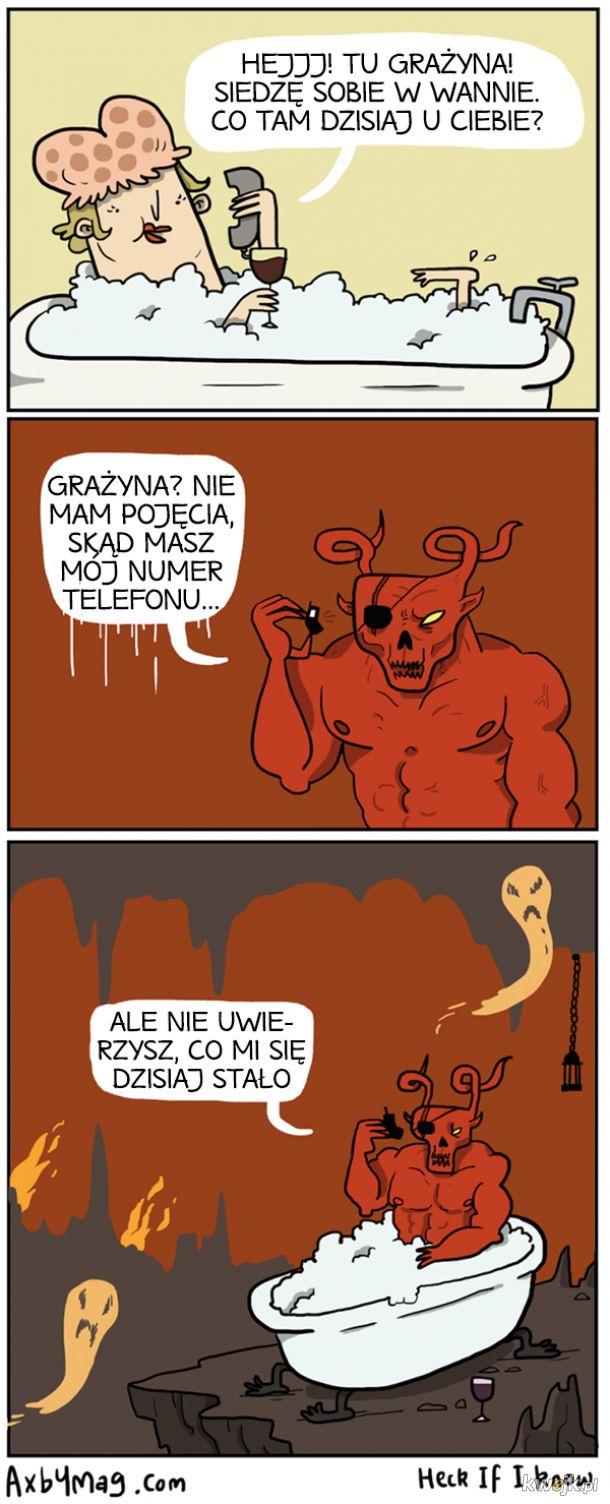 Demoniczne komiksy