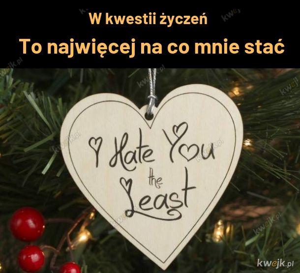Życzenia ode mnie dla Ciebie
