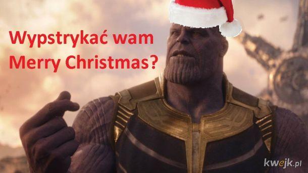 Świąteczny Thanos