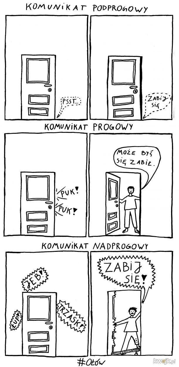 Typy komunikatów