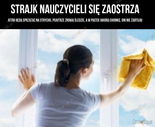 Strajk L4-rek, czyli nauczycielek