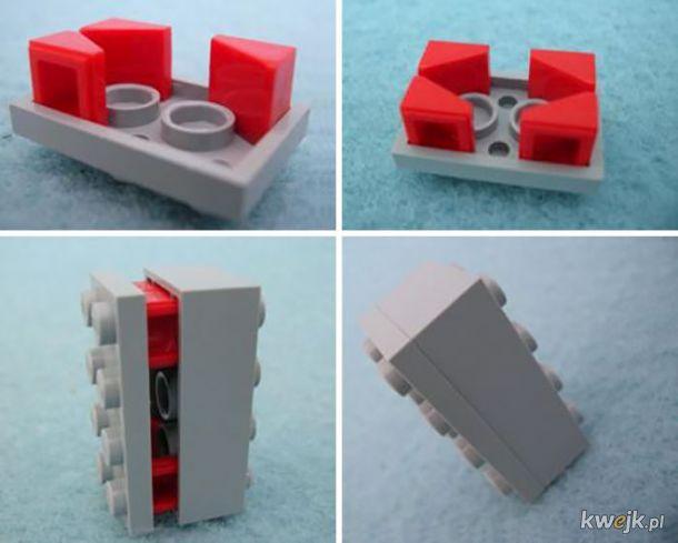 Nielegalne konstrukcje z klocków Lego