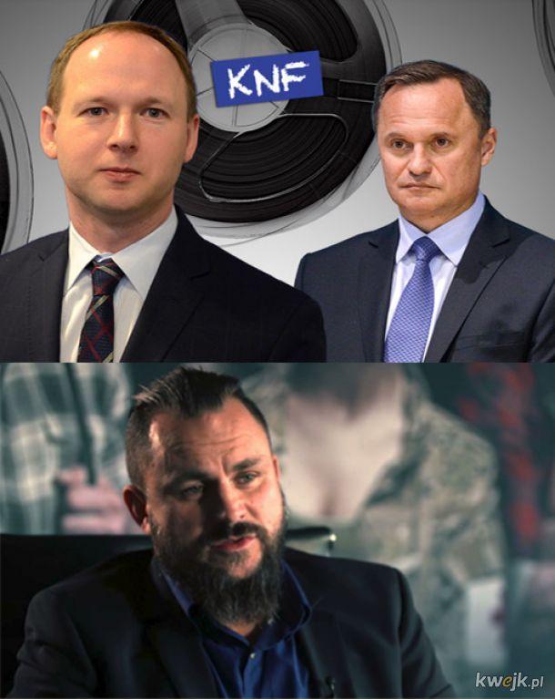 Nowa tajemnicza postać afery KNF - Kim jest tajemniczy bizmesmen, nowa taśma ?