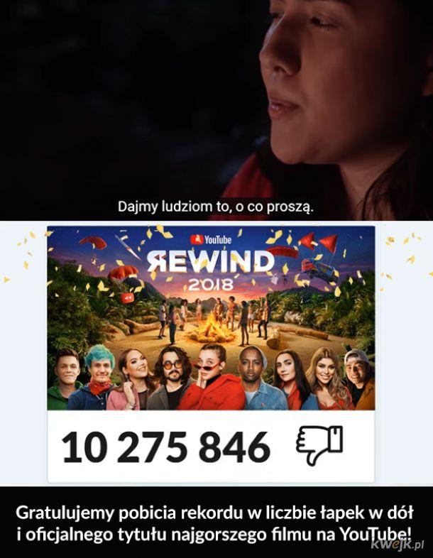 Gratulacje dla YouTube
