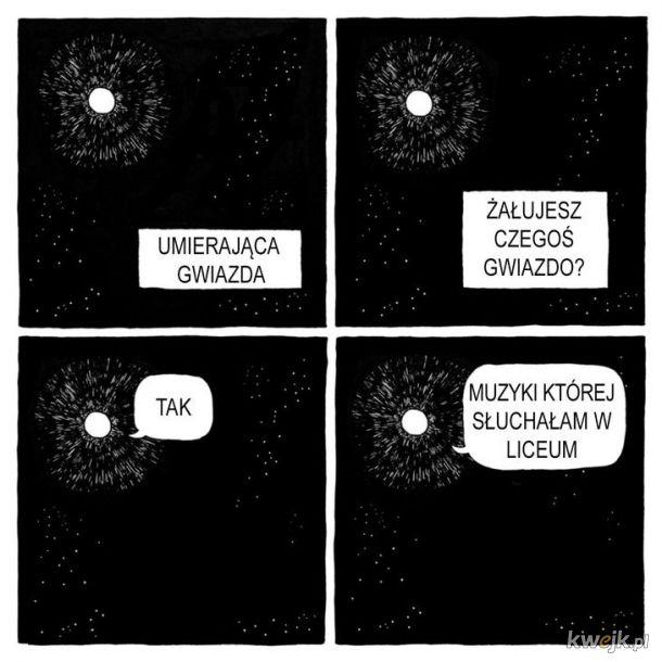 Umierając gwiazda
