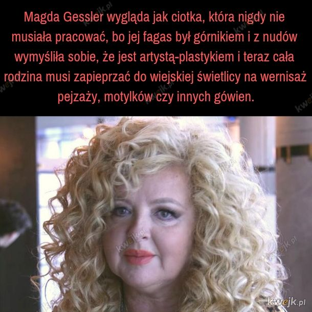 Magda Gessler herbu Zielona Pietruszka