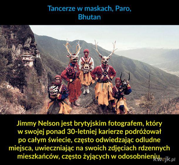 Ludy tubylcze z całego świata na fotografiach Jimmy'ego Nelsona