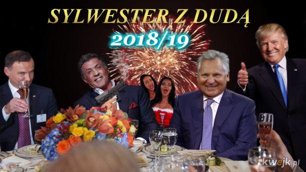 Sylwester z Dudą 2018/19 - a ty, jak spędzisz sylwestra w tym roku? :D