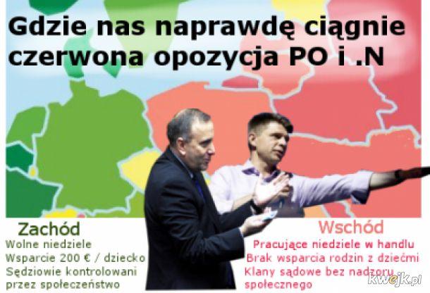 PO i Nowoczesna idą na wschód