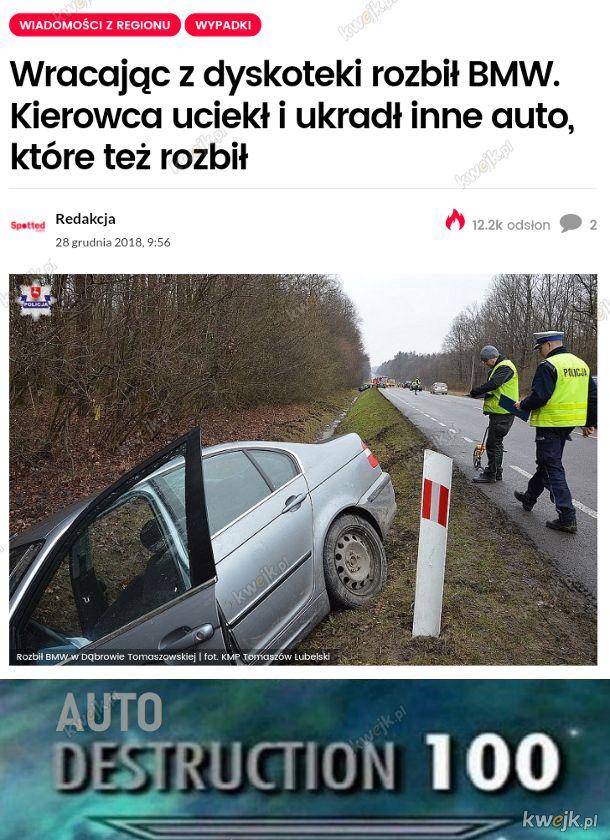 Świetny kierowca