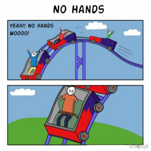 Bez rąk