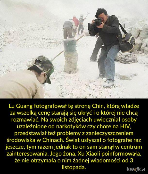 Władze Chin uwięziły fotografa, bo jego zdjęcia przedstawiają tę gorszą stronę tamtejszej rzeczywistości