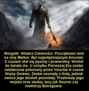 Najpotężniejsi przedstawiciele sił ciemności w twórczości J. R. R. Tolkiena