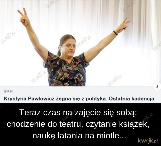 Pawłowicz idzie na emeryturę